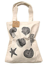Bag141 Monotone Shell Eco Bag/Natural