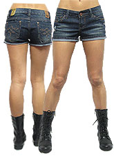 Denim026 H&G Denim Shorts/Dark Denim