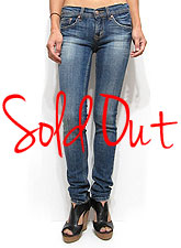 Denim037 Standard Skinny Denim/Washed Denim