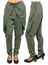 Pants140 Easy Pants w/ Flap/ Olive