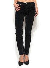 Pants214 Corduroy Skinny Pants/ Black