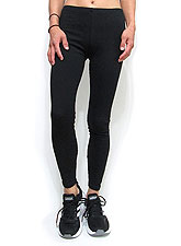 Pants238 Basic Ankle Leggings/ Black