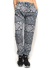Pants241 Cotton Drawstring Joggers/Tribal Navy