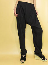 Pants245 Tuck & Drape Lousy Pants/Black