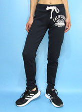 Pants247 Cali Bear Flocking Joggers/Navy