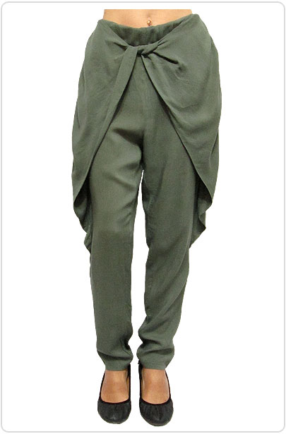 Pants140 Easy Pants w/ Flap/Olive