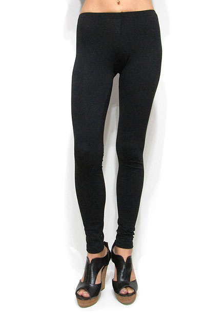 Pants159 Simply Basic Leggings/Black