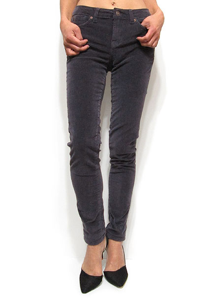 Pants213 Corduroy Skinny Pants/Dark Mauve