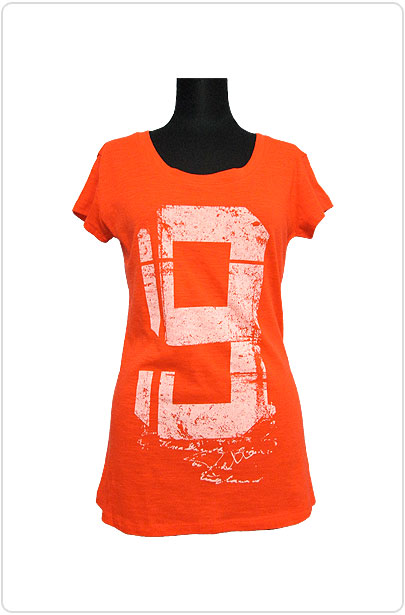 Tops510 No9 Logo T/Orange